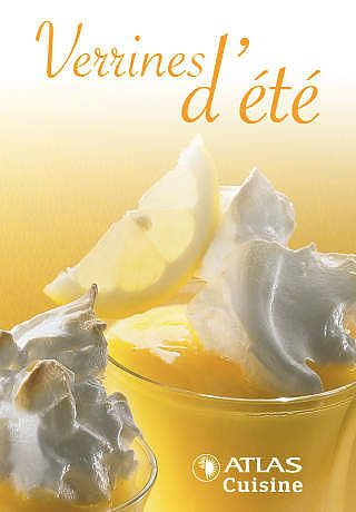 Verrines d'été, Atlas Cuisine pour mac