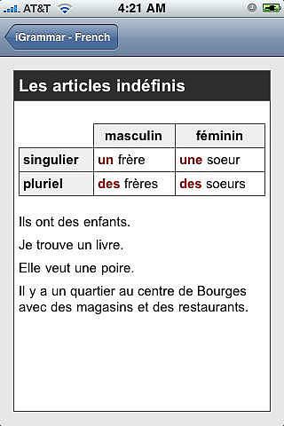 IGrammar - French pour mac
