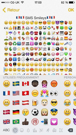 SMS Smileys Free - New Emoji Icons pour mac