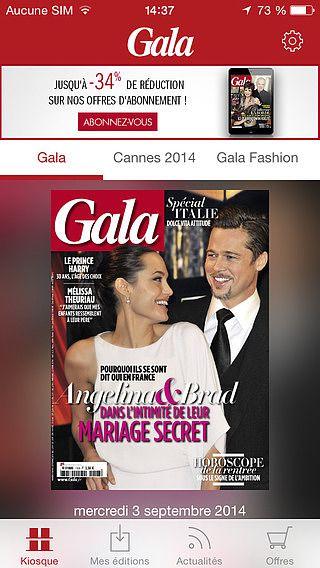 Gala - actualité des stars et tendances mode et beauté pour mac