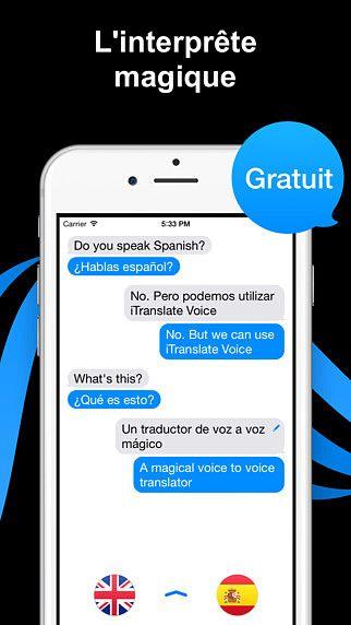 ITranslate Voice Lite - traducteur  pour mac