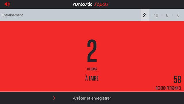 Runtastic Squats : exercices  pour mac