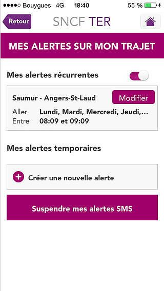 SNCF TER Mobile pour mac