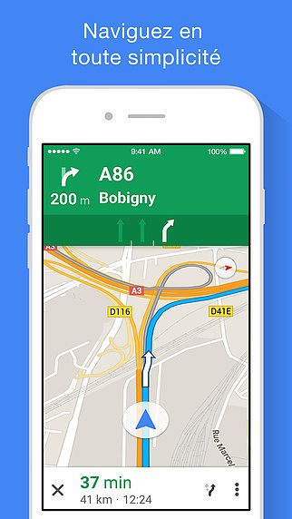Google Maps pour mac