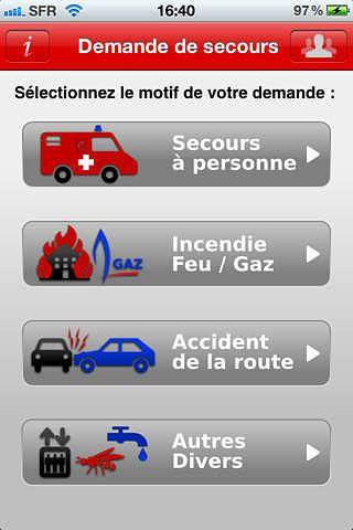 SMS IRAUDA : Demande de secours par SMS pour mac