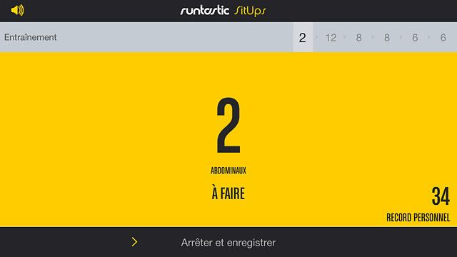Runtastic Sit-Ups - Exercices, coaching  pour mac