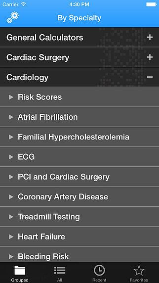 Calculate (Medical Calculator) by QxMD pour mac