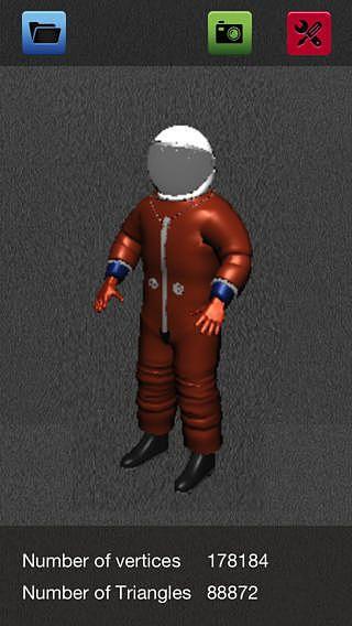 Tridimensionnelle Model Viewer Lite - Visionneuse de modèle 3D e pour mac
