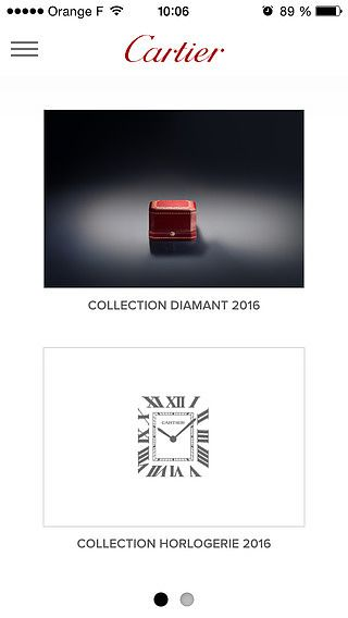 Cartier - Catalogue pour mac