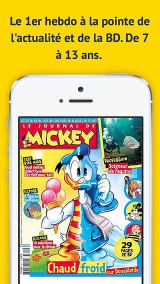 Le Journal de Mickey Mag pour mac