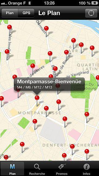 Paris - Métro RER TRAM pour mac