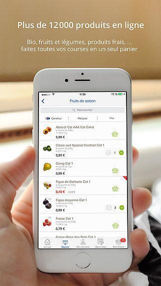 Carrefour ooshop pour mac