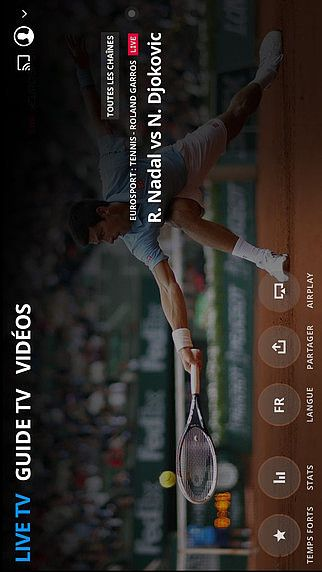 Eurosport Player pour mac