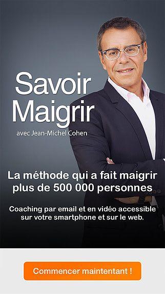 Savoir Maigrir - Coaching minceur avec Jean-Michel Cohen pour mac