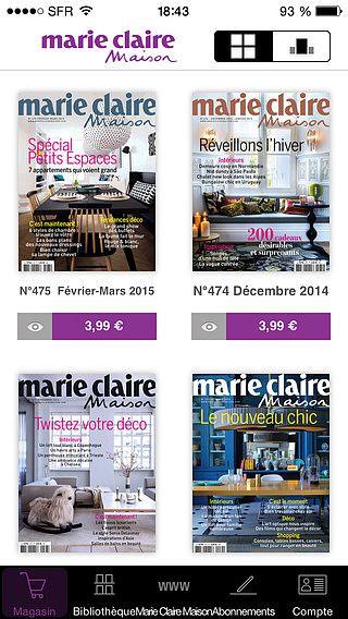 Marie Claire Maison pour mac