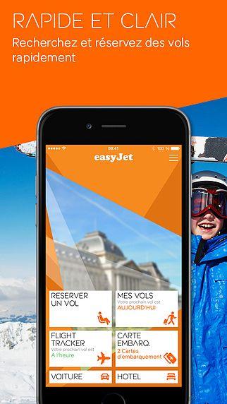 EasyJet mobile pour mac