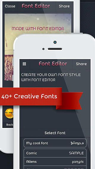 Font Editor for Instagram, WhatsApp, Text  pour mac