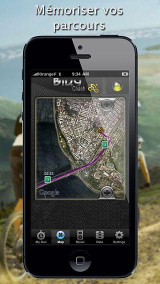 Biky Coach - GPS Sport Cyclisme / VTT / Vélo - Free Edition pour mac