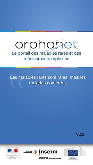 Orphanet, le portail mobile des maladies rares pour mac