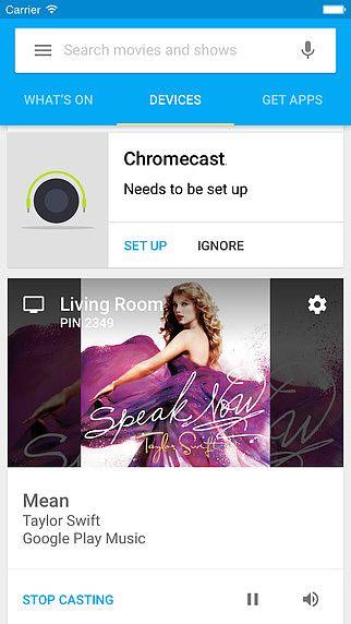 Chromecast pour mac