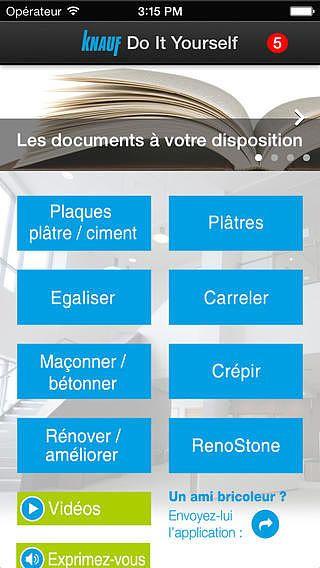 Guide du bricolage Knauf pour mac