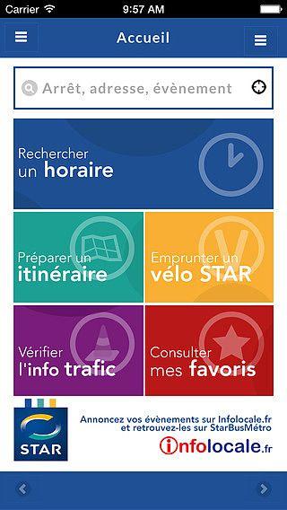 StarBusMétro pour mac