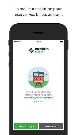 Captain Train : achat de billets de train pour mac