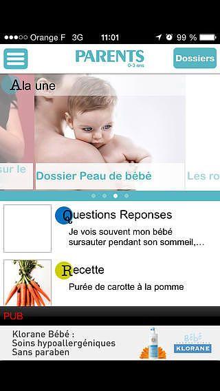 PARENTS, tout savoir sur votre bébé grâce aux experts du magazin pour mac