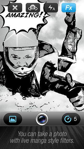 Caméra Bande Dessinée (Comic Book Camera) pour mac