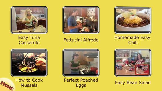 Des Recettes Simples:  Apprendre comment préparer des repas sain pour mac