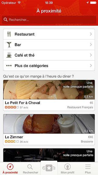 Yelp - Avis de Restaurants pour mac