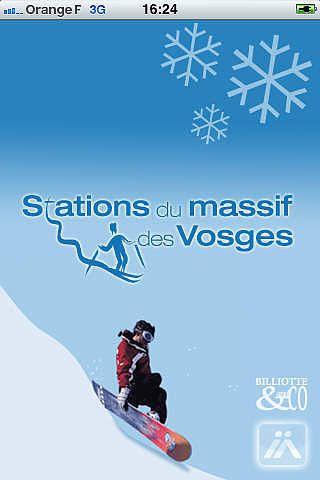Info neige du Massif des Vosges pour mac