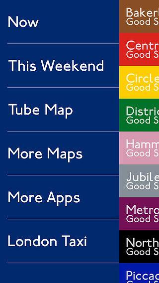Carte du Métro de Londres pour mac
