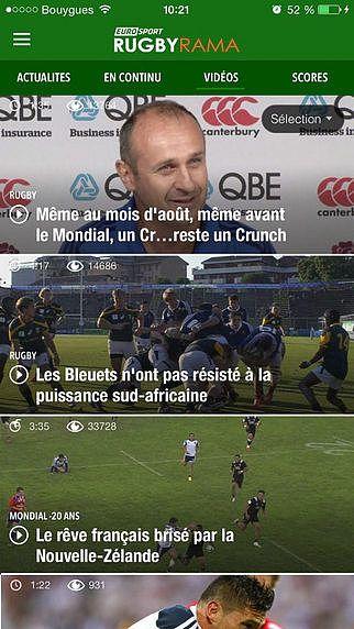Rugbyrama pour mac