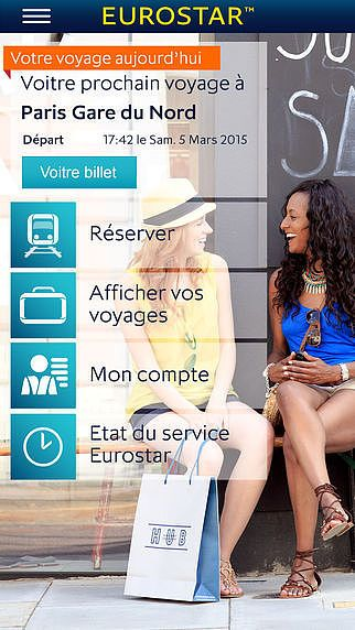 Eurostar Trains pour mac