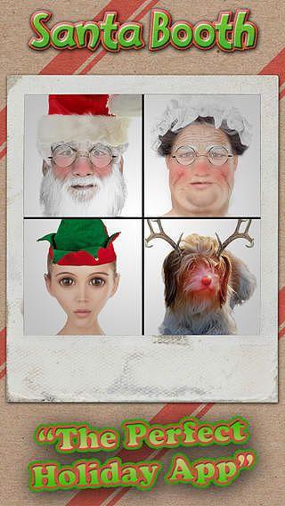 Face de Père Noël- Santa Booth pour mac