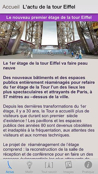 La Tour Eiffel pour mac