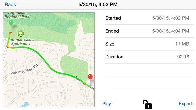 CamCarDer - Appareil enregistreur compatible GPS pour la voiture pour mac