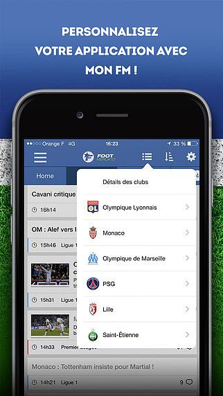 Foot Mercato : transferts, résultats pour mac