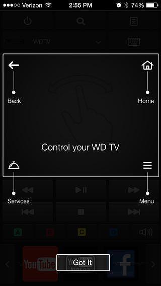 WD TV Remote pour mac