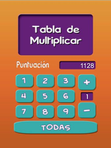Tablas de Multiplicar - iPad Version pour mac