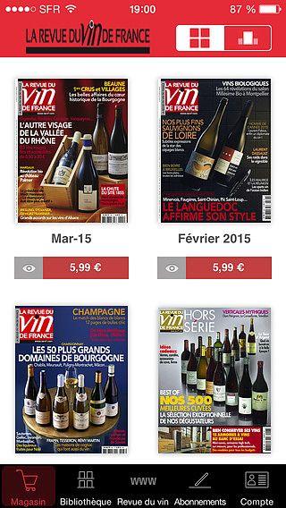 La revue du vin de France pour mac