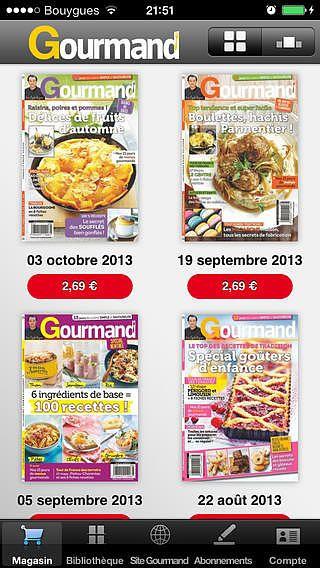 Gourmand pour mac