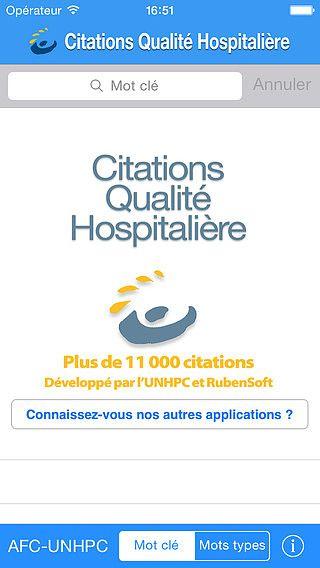 Citations Q-H (qualité hospitalière) pour mac