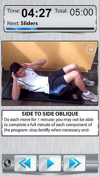 Exercices Abdo GRATUIT pour mac