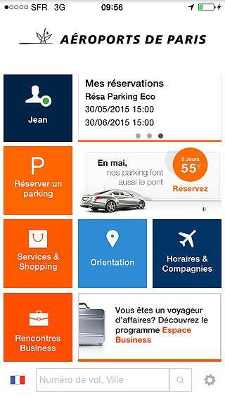 My Airport - Service officiel d'Aéroports de Paris pour mac