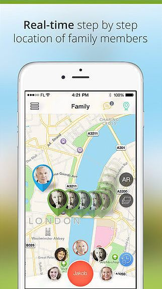 Family Locator - GPS Phone Tracker pour mac