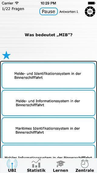 UBI Funkzeugnis pour mac