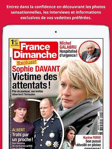 France Dimanche Magazine pour mac