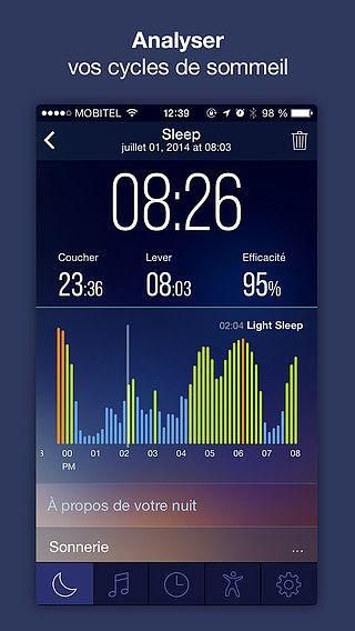 Sleep Time : Sleep Cycle Smart Alarm Clock, Sleep Tracker with S pour mac